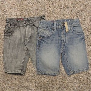 Boys' Mossimo Supply Denim Shorts - set of 2 -NWOT
